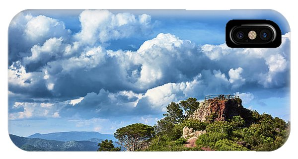 Like Touching The Sky IPhone Case