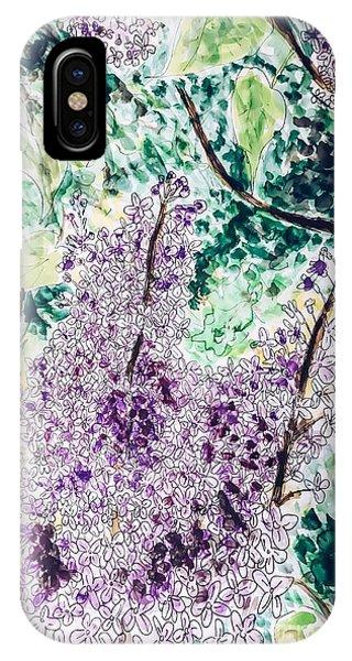 Lilac Dreams IPhone Case