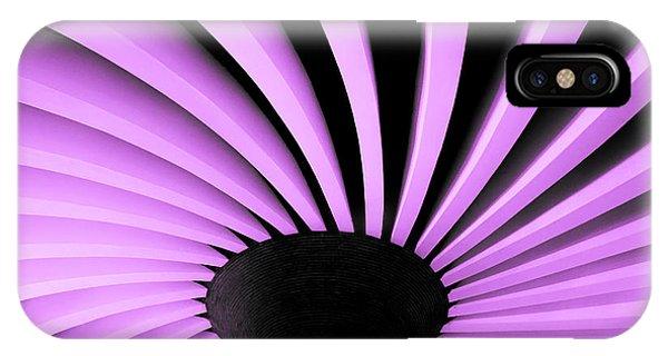 Lilac Fan Ceiling IPhone Case