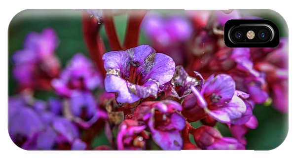 Lilac #h9 IPhone Case