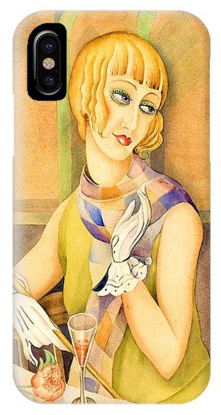 Lgbt iPhone Case - Lili Elbe - Digital Remastered Edition by Gerda Wegener