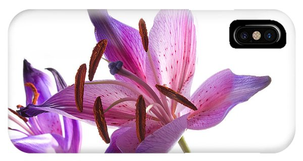 Bouquet iPhone Case - Lilies by Andrekart Photography