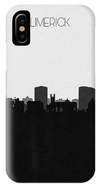 Irish iPhone Case - Limerick Cityscape Art by Inspirowl Design