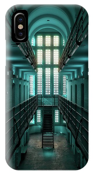 Lincoln Castle Prison In Blue IPhone Case