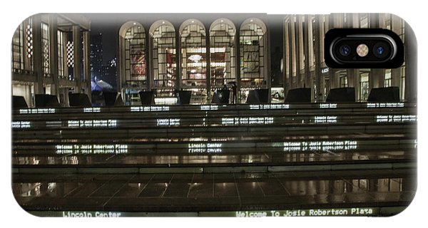 Lincoln Center For The Performing Arts IPhone Case