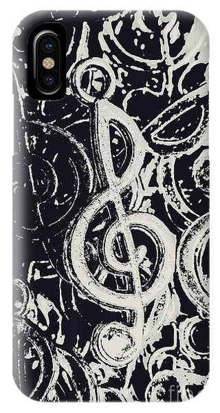 Song iPhone Case - Line Ensemble by Jorgo Photography - Wall Art Gallery
