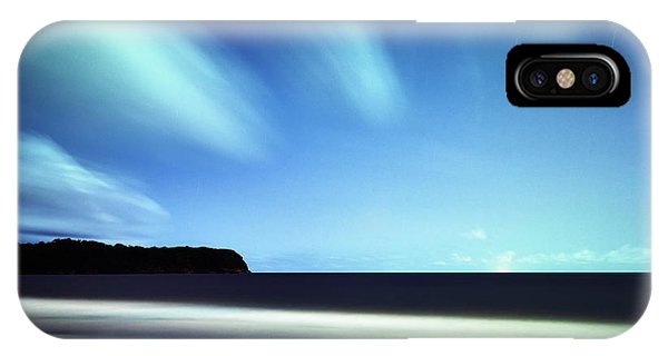 Linear Clouds Over Mayaro IPhone Case