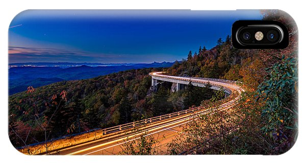 Linn Cove Viaduct - Blue Ridge Parkway IPhone Case