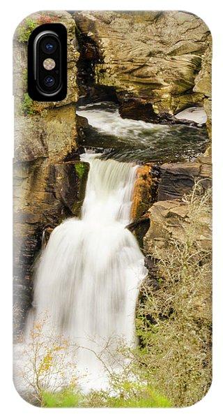 Linville Falls - Closeup IPhone Case