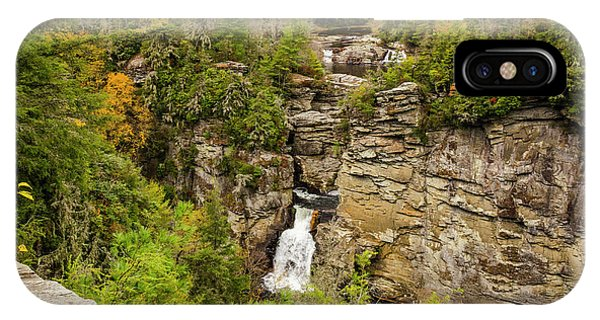 Linville Falls - Wide View IPhone Case