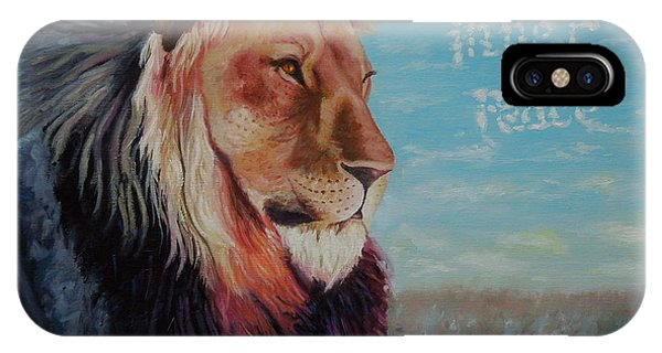 Lion - Inner Peace IPhone Case