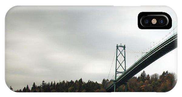Lions Gate Bridge Vancouver IPhone Case