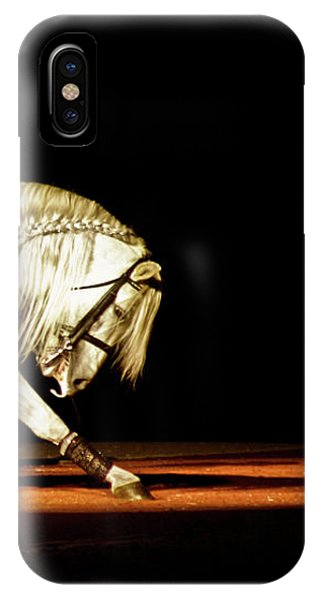 IPhone Case featuring the photograph Lipizzan by Catherine Sobredo