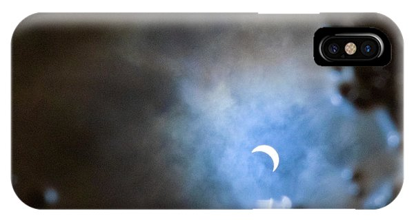 Liquified Solar Eclipse IPhone Case