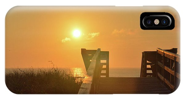 Listen To The Sunrise IPhone Case