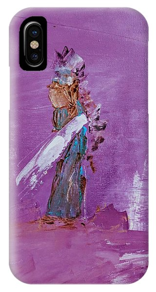 Little Indian Angel IPhone Case