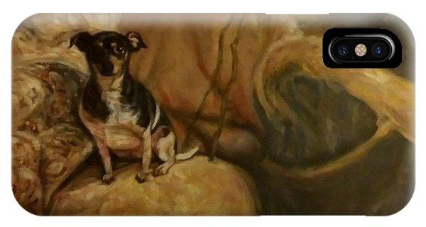 Little Miss Margo IPhone Case