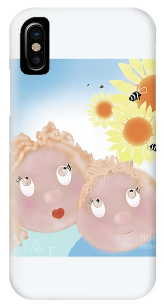 Little Ms And Bro IPhone Case
