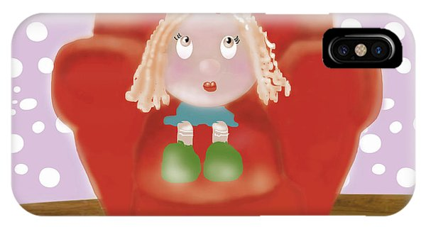 Little Ms IPhone Case