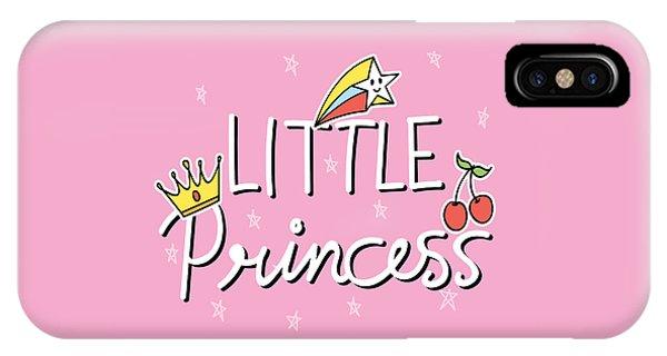 Little Princess - Baby Room Nursery Art Poster Print IPhone Case