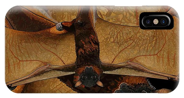 Little Red Flying Fox 2 IPhone Case