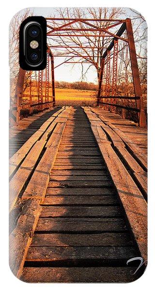 Little River Bridge IPhone Case