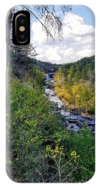 IPhone Case featuring the photograph Little River Canyon Alabama by Rachel Hannah