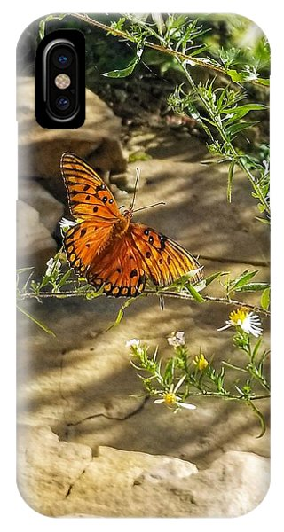 IPhone Case featuring the photograph Little River Canyon Butterfly  by Rachel Hannah