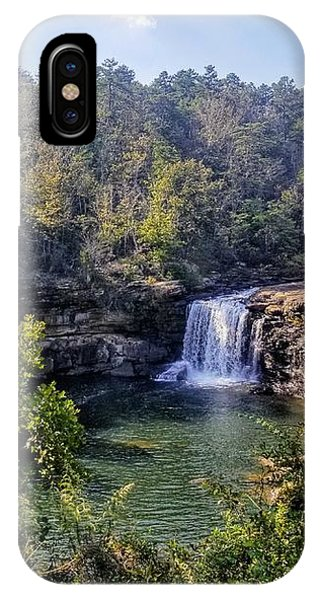IPhone Case featuring the photograph Little River Canyon Falls Alabama by Rachel Hannah
