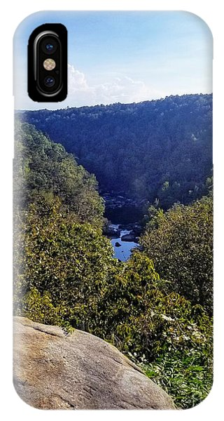 IPhone Case featuring the photograph Little River Canyon Overlook Alabama by Rachel Hannah