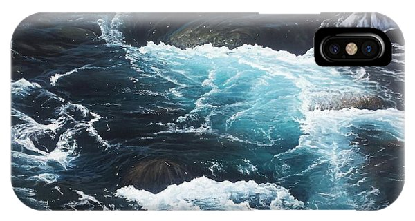 IPhone Case featuring the painting Living Waters by Peter Mathios