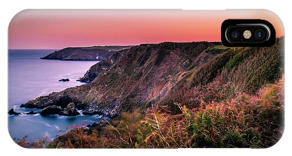 Lizard Point Sunset - Cornwall IPhone Case