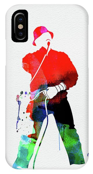 Cool iPhone Case - Ll Cool J Watercolor by Naxart Studio