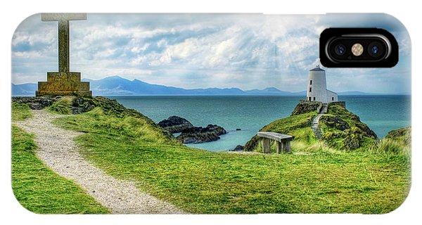 Llanddwyn Island IPhone Case