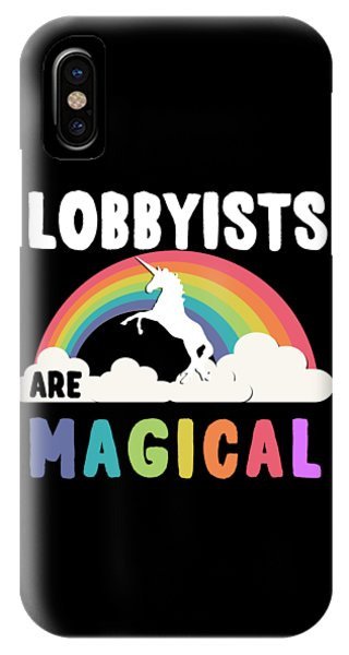 Lobbyists Are Magical IPhone Case