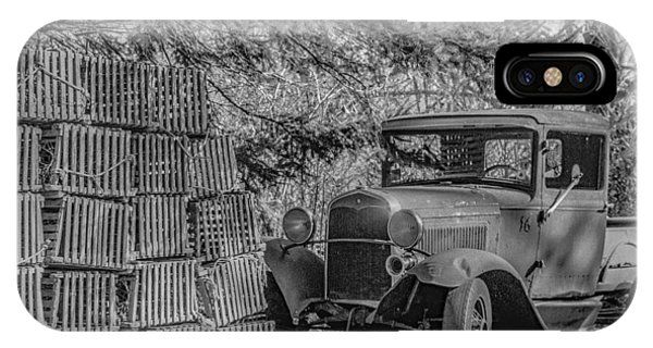Lobster Pots And Truck IPhone Case