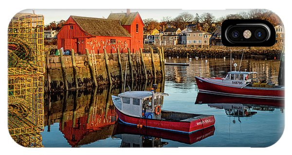 Lobster Traps, Lobster Boats, And Motif #1 IPhone Case