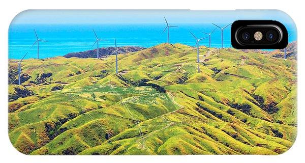 Farmland iPhone Case - Location New Zealand, Capital City by Skylynx