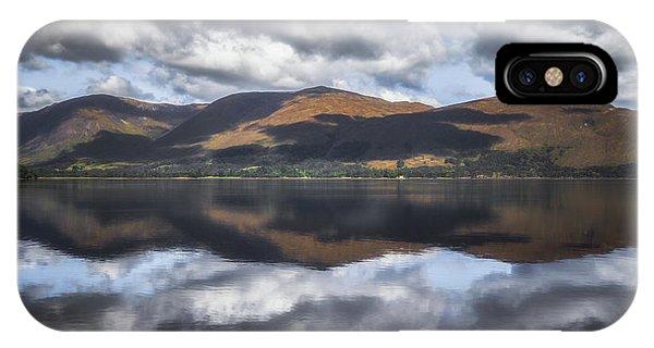Beautiful Scotland iPhone Case - Loch Eil Reflections No 1 by Chris Fletcher