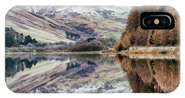 IPhone Case featuring the photograph Loch Of The Lowes Winter by Tim Gainey