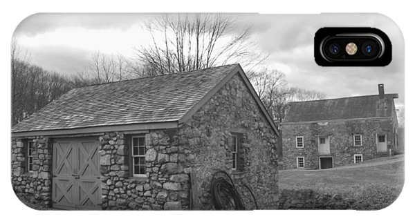 Lock House And Store - Waterloo Village IPhone Case