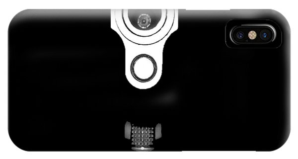 Stainless Steel iPhone Case - Locked And Loaded .png by Al Powell Photography USA