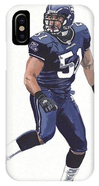 Seattle Seahawks iPhone Case - Lofa Tatupu No. 51 by Matthew Miller 224f1d5c8