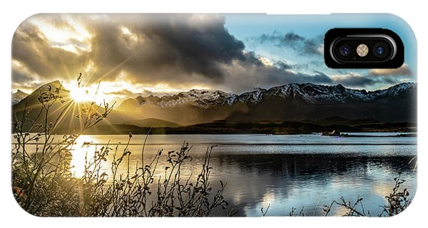 Lofoten Sunset IPhone Case