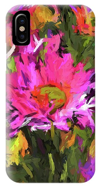 Lolly Pink Daisy Flower IPhone Case