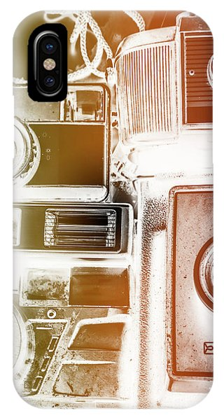 Vintage Camera iPhone Case - Lomo Light Leaks by Jorgo Photography - Wall Art Gallery