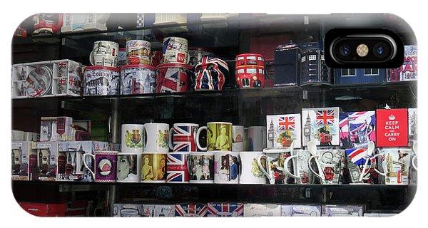 London England Shop Window IPhone Case