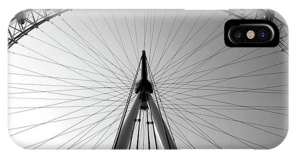 London_eye_i IPhone Case