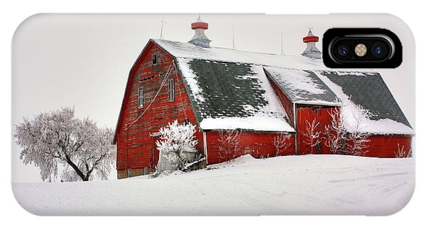 Lone Barn IPhone Case