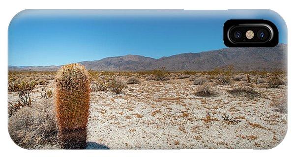 Lone Barrel Cactus IPhone Case